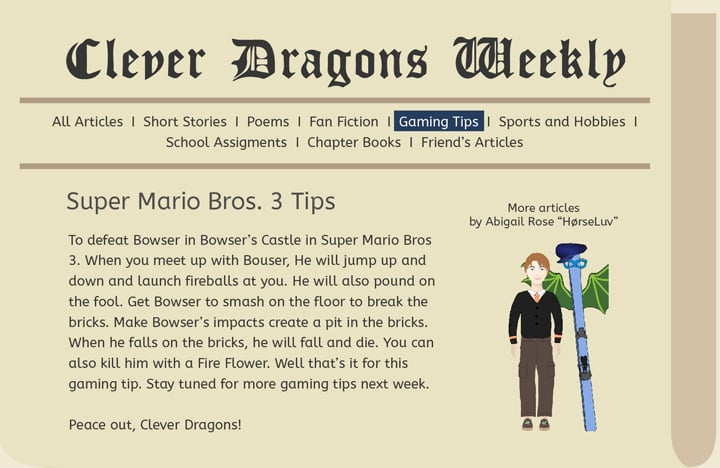 Clever Dragons - Welcome to Clever Dragons!
